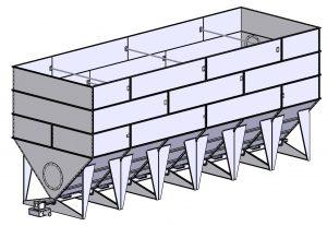 Бункер для гранулированного топлива
