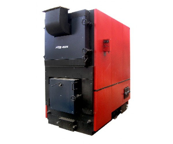 """M series boilers with """"volcanic"""" fuel supply 